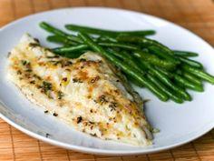 2 tablespoons butter* 2 teaspoons minced garlic 1 teaspoon lemon pepper 2 4-ounce Alaska pollock fillets (4 to 6 ounces each) Lemon wedges Servings: 2 Melt butter in large skillet over medium-high …