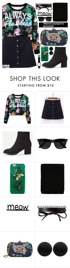 """I'd love to hold you close"" by pastelneon ❤ liked on Polyvore featuring Ray-Ban, Dolce&Gabbana, Fallon, Gucci, Thomas Sabo and Rosendahl"
