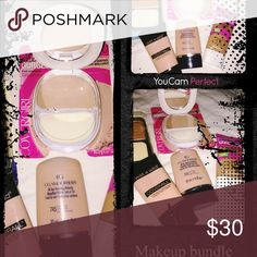 Makeup Foundation Bundle 5 New Makeup foundation bundle, great for a Olive/Tan Complexion. Covergirl Makeup Foundation