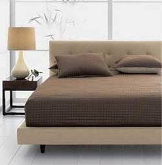 The Crate and Barrel Tate bed. Yum.