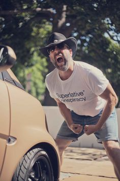 WeActivist Peter Stormare and the smart BRABUS tailormade by WeSC