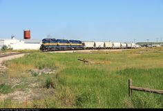 RailPictures.Net Photo: RCPE 6414 Rapid City, Pierre, & Eastern EMD SD40-2 at Belle Fourche, South Dakota by Kevin The Krazy 1