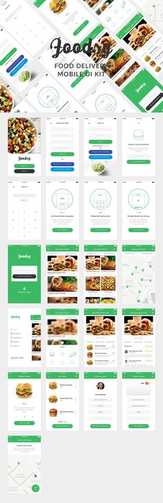 Foodsy is a premium mobile UI Kit to help in your food delivery App development…