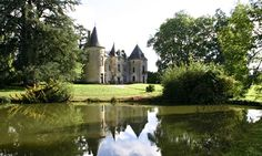 Chateau Ribagnac, Limousin, France