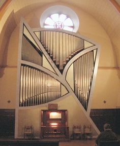 Gerard Bancells organ; St. Claire Chapel, Toulouse, France; II/27