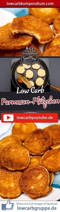 Die Low-Carb Parmesan-Plätzchen sind ein perfekter Snack für Zwischendurch, wenn du an einem entspannten Abend Lust hast eine herzhafte Kleinigkeit zu naschen. Und nun wünschen wir dir viel Spaß beim Nachkochen, LG Andy & Diana.