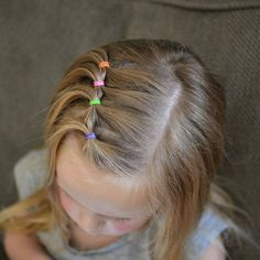 coiffure fillette facile pour école #hairstyles #girl
