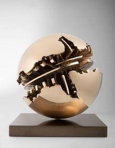 European Sculpture — Arnaldo Pomodoro - Sphère, 1991