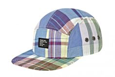 Stussy Camp Caps Fall 2012 Madras
