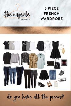 French Wardrobe Basics Modern French Wardrobe What A Beautiful Capsule Sppringsummer Pic