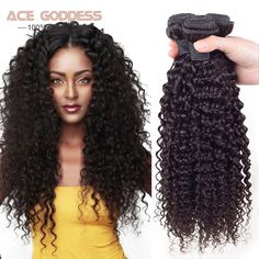 Saçlarin kapatilmasi Hair Weaving Brazilian Kinky Curly Virgin Hair 3Bundles Mink Brazilian Virgin Hair Curly Weave Human Hair Virgin Brazilian Hair Weave Bundles * Bu bagli bir çam AliExpress oldugunu.  AliExpress web sitesinde ayrintili aciklamalar icin ZIYARET dugmesine tiklayin.