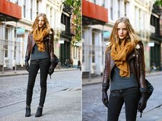 Winter street style - #lookbuttertoffees