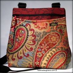 Helen's Daughters Studio: Make A Handbag A Day January Challenge #26- #29