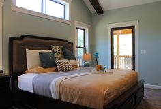 If you're ready for a master bedroom where you can enjoy a good night's sleep, then contact Lake Hallie Cabinets & Design! Barrel Ceiling, Parade Of Homes, Closet Designs, Cabinet Design, New Builds, Good Night Sleep, Custom Homes, Home Remodeling, Countertops