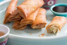 Crispy spring rolls – Recipes – Bite