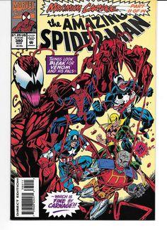 The Amazing Spider-Man #380 #381 #382 (1993) VF/NM