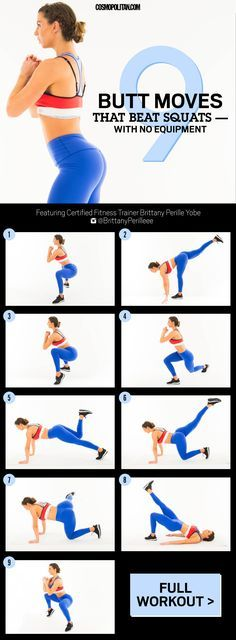 9 Butt Moves That Beat Squats (use the gifs on the page that show how to do the exercise)
