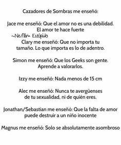 The mortal instruments Cazadores de sombras Jace Clary Simon  Izzy Alec  Sebastian/jonathan  Magnus