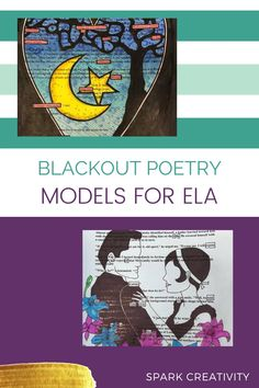 Want to get started with blackout poetry? In this post, get free resources to guide you and see inspiring models from other classrooms that you can show your creative ELA students. #blackoutpoetry #iteachela Poetry Unit, National Poetry Month, Blackout Poetry, Fort Walton Beach, Letter Form, Teaching Strategies, Student Work, Sharpie, Lesson Plans