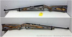 Ruger 10/22 Semi Auto rifle 22LR Multi Tone Stock