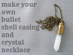 Dans le Townhouse: DIY Bullet Shell Casing Necklace