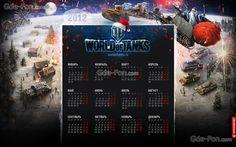 World of Tanks Calendar