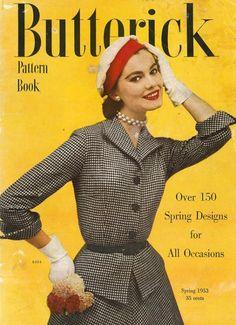 Butterick Pattern Book, Spring 1953