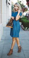 A Denim Dress Thing with Mindy Mae's Market