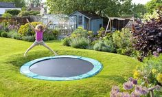Will a trampoline drive our neighbours mad?   Photograph: Rachel Warne