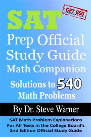 SAT Prep Official Study Guide Math Companion: SAT Math Problem Explanations For All Tests in the College Board's Edition Official Study Guide Act College, College Board, Sat Essay Tips, Homeschool Curriculum, Homeschooling Resources, Sat Math, Sat Prep, Math Questions, College Planning