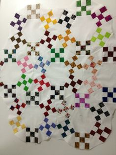 Irish Chain Double Wedding Ring Quilt Pattern - Yahoo Image Search Results