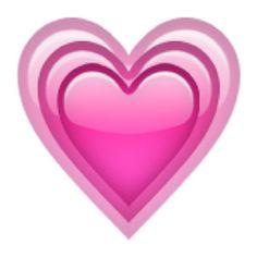 Light pink heart emoji