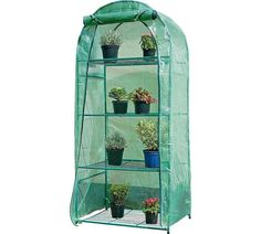 Buy 4 Tier Mini Greenhouse at Argos.co.uk - Your Online Shop for Greenhouses, Greenhouses and accessories, Conservatories, sheds and greenhouses, Home and garden.