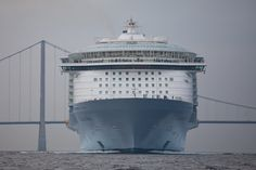 World's largest cruise ship - MS Allure of the Seas... See you in February!!!