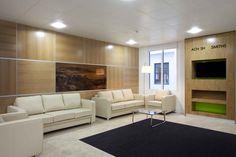 Reception, Audio visual, Waiting area, Interior design, Office design, Modern