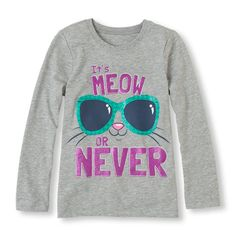 Meow Or Never Graphic Tee Your cat lover needs this tee right meow!