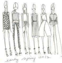 Pre Spring 2012 Inspiration @Tibi New York
