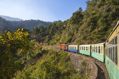 The Kalka Shimla toy train provides one of the most scenic train journeys in India (with 103 tunnels!) and is like traveling back in time. Third Rail, Trains For Sale, North India, Shimla, Model Train Layouts, Train Journey, Models, Classic Toys, Model Trains