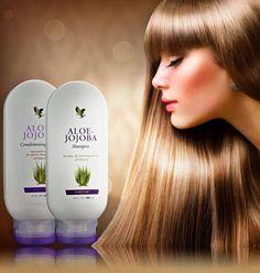 ΦΥΣΗ ΟΜΟΡΦΙΑ & ΥΓΕΙΑ ALOE VERA: Aloe-Jojoba Shampoo &Conditioning Rinse FOREVER LI...