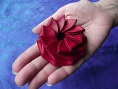 Red Pinwheel Leather Change Purse Coin For Him by PoppysPinwheels, $23.00