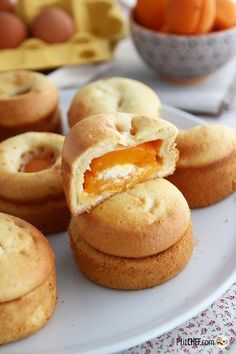 Sweet apricot and mascarpone, Ptitchef recipe - Laurie&DessertRecipes Quick Dessert Recipes, Easy Cake Recipes, Sweet Recipes, Sugar Cookies From Scratch, Cookie Recipes From Scratch, Mini Desserts, Chocolate Desserts, Best Chocolate Chip Cookies Recipe, Scones