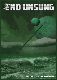 END UNSUNG Web Series, Sci Fi Art, Cool Stuff, Retro, Painting, Painting Art, Paintings, Retro Illustration, Painted Canvas