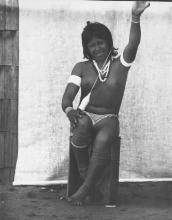 Cotton thread spinning. Northeast of South America. The Wapishana Indians, 1933.
