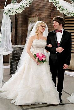 Howard finally notices the extreme similarities between Bernadette and his mother. At one point during the ceremony, he snaps at his mother to stop yelling at him and that Bernadette is the only one who can yell at him from this point forward.