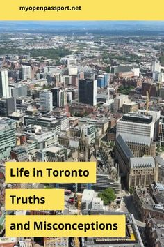 Heading to Toronto and not sure what to expect? Check out this article to learn more about life in Toronto, Canada from a local perspective. #toronto #canada #localperspective #lifeintoronto #expectations #realities