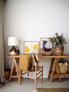 See more ideas about Desk ideas, Office ideas and Home office decor. Convert a small space to a polished eye-catching and functional home office. Home Office Design, Home Office Decor, House Design, Office Ideas, Workspace Design, Design Design, Design Trends, Office Decorations, Design Ideas