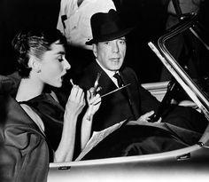 """""""She's disciplined, like all those ballet dames."""" -Humphrey Bogart on Audrey Hepburn (1954)"""