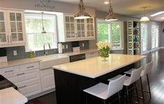 Check out how this IKEA fan turned her old outdated kitchen into a new mix colored dream kitchen!