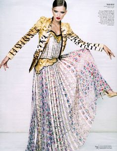 """""""Best in Class"""" by Emma Summerton for W Magazine January 2012"""