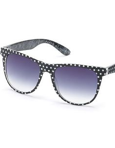 SO Polka-Dot Retro Sunglasses